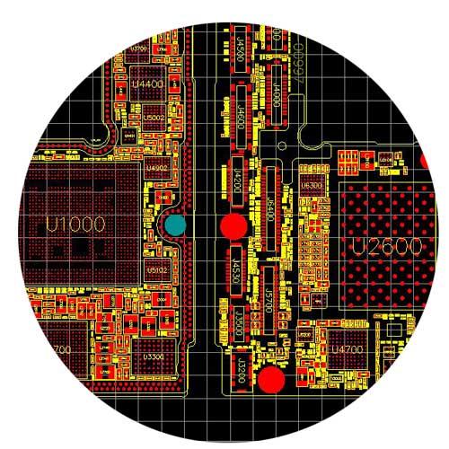 ASUS A8R-MX 60-M9L10P-A05 BoardView دانلود برد ویو مادربرد